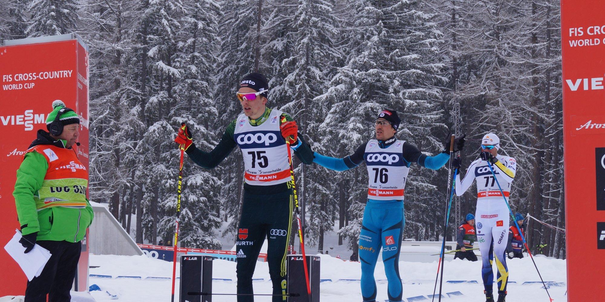 Janosch Brugger gewinnt Langlaufweltcup!